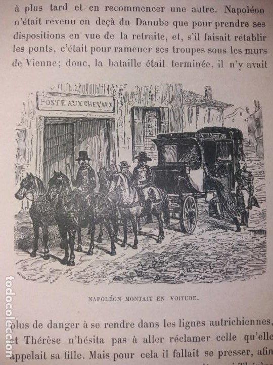 Libros antiguos: BONITO LIBRO 1890 LA VIVANDIERE NOVELA HISTORICA SOBRE NAPOLEON - Foto 19 - 193792067