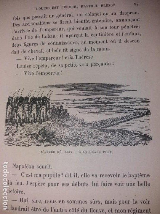 Libros antiguos: BONITO LIBRO 1890 LA VIVANDIERE NOVELA HISTORICA SOBRE NAPOLEON - Foto 22 - 193792067