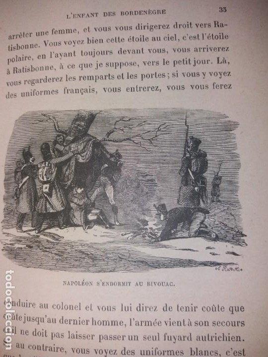 Libros antiguos: BONITO LIBRO 1890 LA VIVANDIERE NOVELA HISTORICA SOBRE NAPOLEON - Foto 24 - 193792067