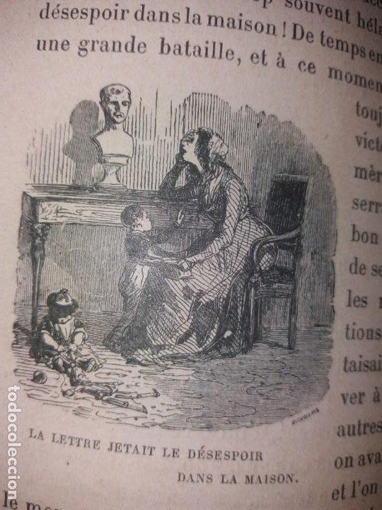 Libros antiguos: BONITO LIBRO 1890 LA VIVANDIERE NOVELA HISTORICA SOBRE NAPOLEON - Foto 28 - 193792067