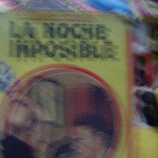 Libros antiguos: LA NOCHE IMPOSIBLE, T. A. SPAGNOL. N.1111-717. Lote 194114170