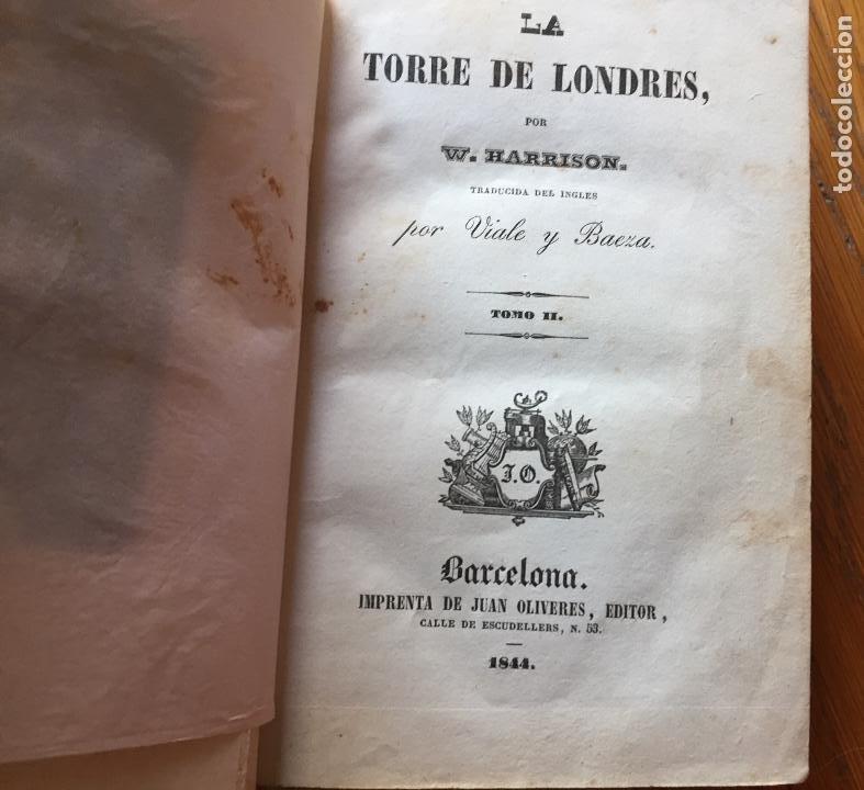 Libros antiguos: LA TORRE DE LONDRES, W.Harrison, - Foto 2 - 194132548
