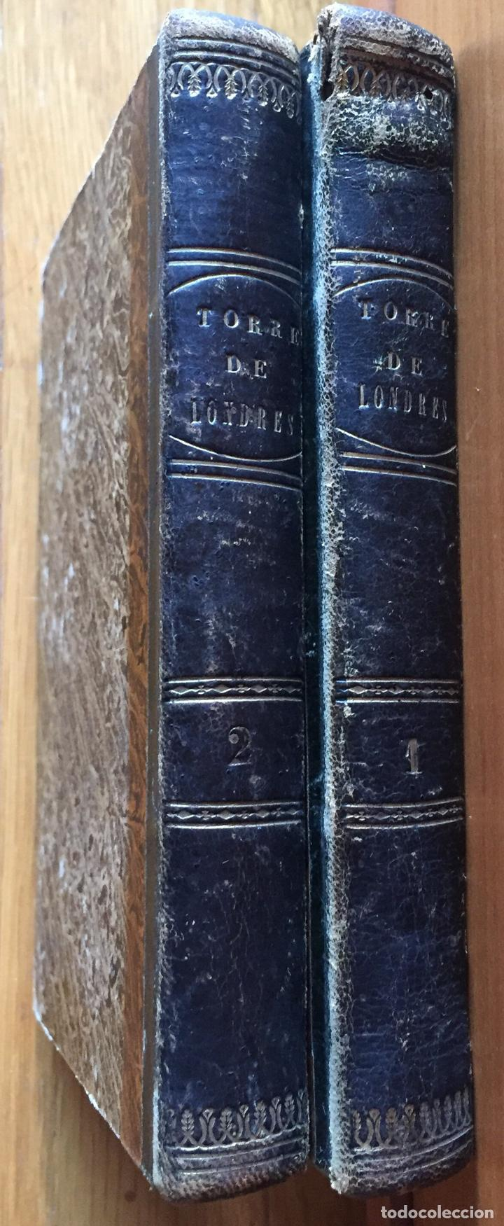 LA TORRE DE LONDRES, W.HARRISON, (Libros antiguos (hasta 1936), raros y curiosos - Literatura - Narrativa - Novela Histórica)