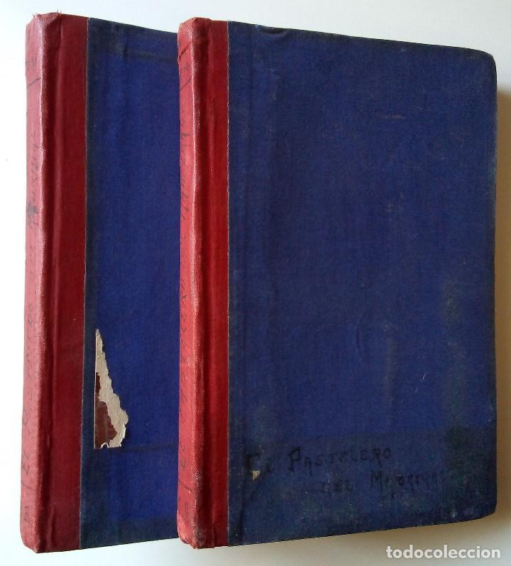 FERNÁNDEZ Y GONZÁLEZ: EL PASTELERO DEL MADRIGAL. TOMOS I Y II (Libros antiguos (hasta 1936), raros y curiosos - Literatura - Narrativa - Novela Histórica)