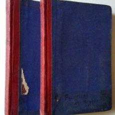 Libros antiguos: FERNÁNDEZ Y GONZÁLEZ: EL PASTELERO DEL MADRIGAL. TOMOS I Y II. Lote 194178362