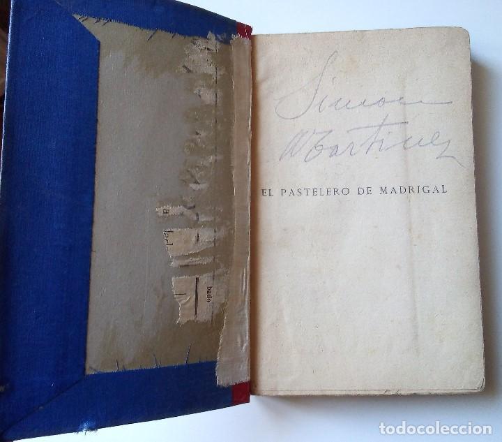 Libros antiguos: Fernández y González: El pastelero del madrigal. Tomos I y II - Foto 3 - 194178362