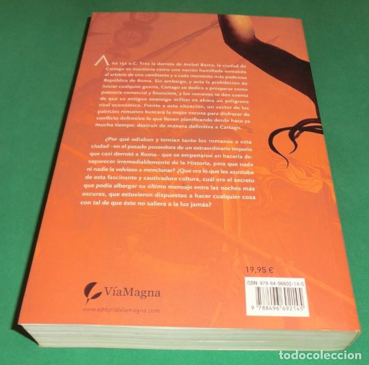 Libros antiguos: CARTAGO EL IMPERIO DE LOS DIOSES - EMILIO TEJERA PUENTE [LIBRO NUEVO]...en librerías 19.95€ - Foto 2 - 194231002