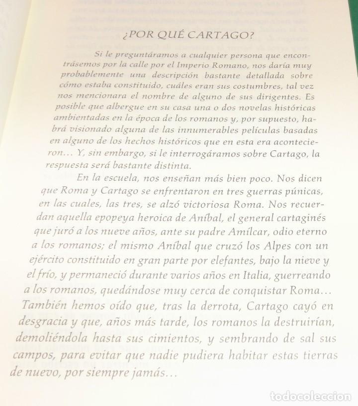 Libros antiguos: CARTAGO EL IMPERIO DE LOS DIOSES - EMILIO TEJERA PUENTE [LIBRO NUEVO]...en librerías 19.95€ - Foto 5 - 194231002