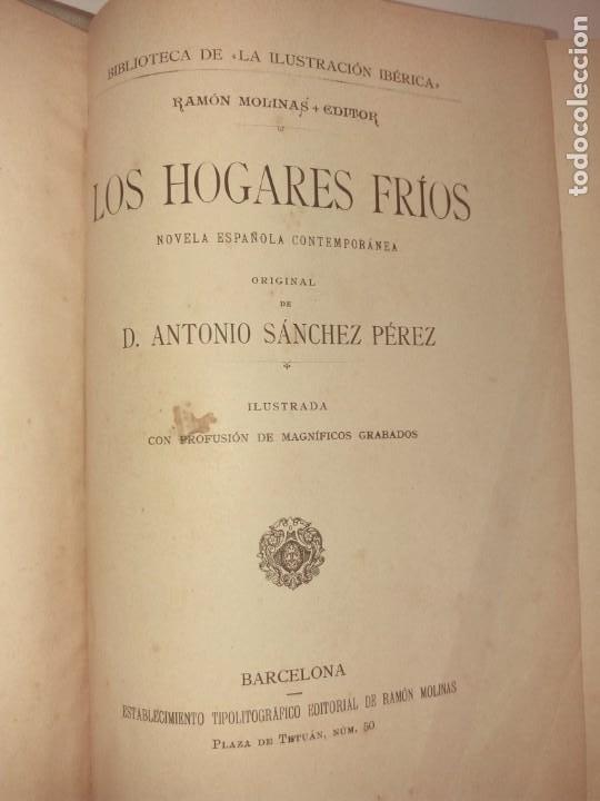 Libros antiguos: LOS HOGARES FRIOS - Foto 69 - 194340407