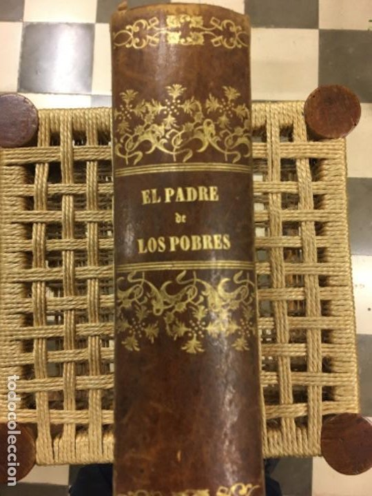 EL PADRE DE LOS POBRES, RAFAEL DEL CASTILLO, 1862 (Libros antiguos (hasta 1936), raros y curiosos - Literatura - Narrativa - Novela Histórica)