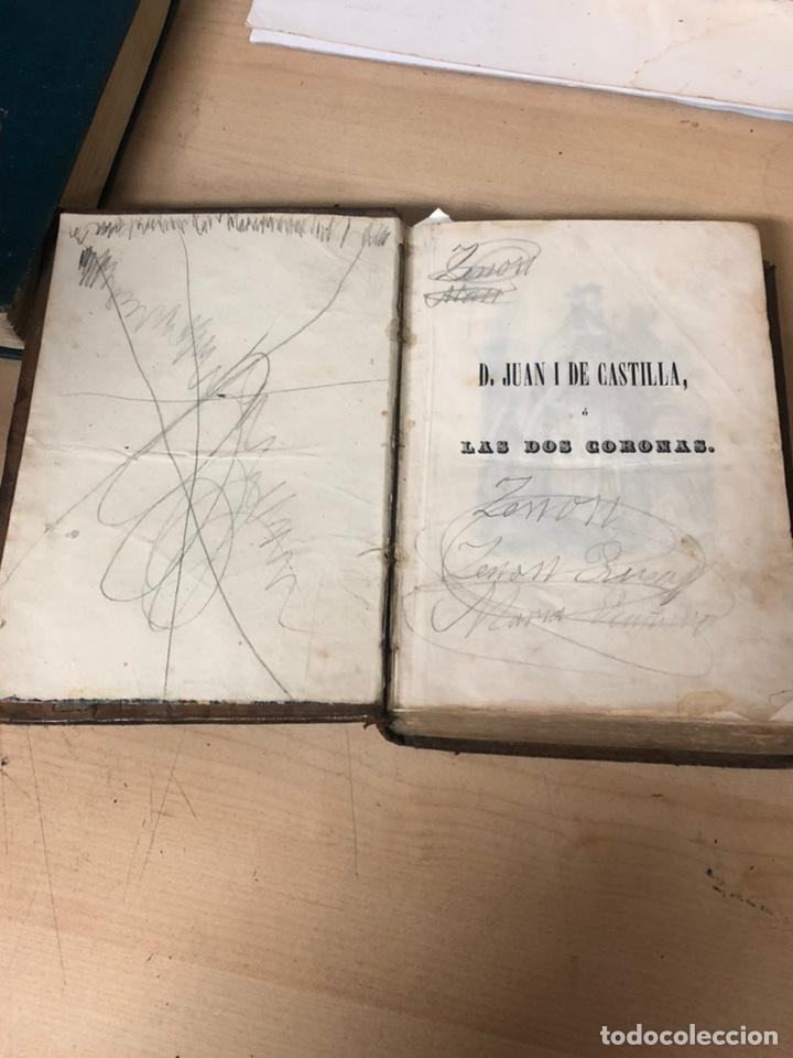 Libros antiguos: D.JUAN I DE CASTILLA O LAS DOS CORONAS POR D.JOSÉ RIBOT Y FONTSERE MADRID 1852 - Foto 3 - 195145333
