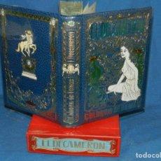 Libros antiguos: (MLIT) GIOVANNI BOCCACCIO - EL DECAMERÓN PIETRO ARETINO COLOQUIO DE DAMAS LA CORTESANA 1971. Lote 195202268