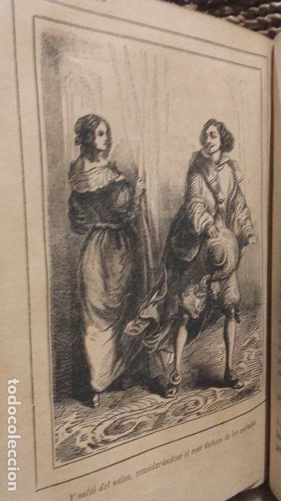 Libros antiguos: Los tres mosqueteros, Alejandro Dumas, edicion ilustrada 1859. - Foto 8 - 195242308