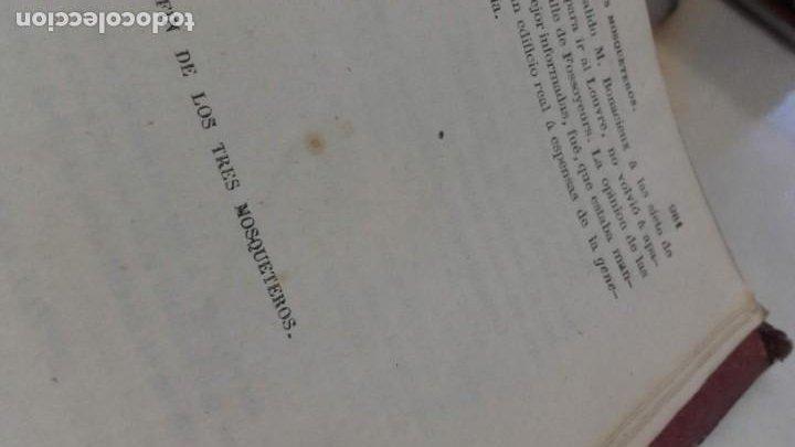 Libros antiguos: Los tres mosqueteros, Alejandro Dumas, edicion ilustrada 1859. - Foto 13 - 195242308