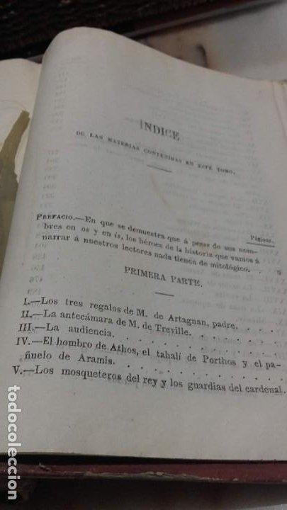 Libros antiguos: Los tres mosqueteros, Alejandro Dumas, edicion ilustrada 1859. - Foto 14 - 195242308