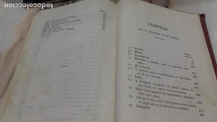 Libros antiguos: Los tres mosqueteros, Alejandro Dumas, edicion ilustrada 1859. - Foto 16 - 195242308