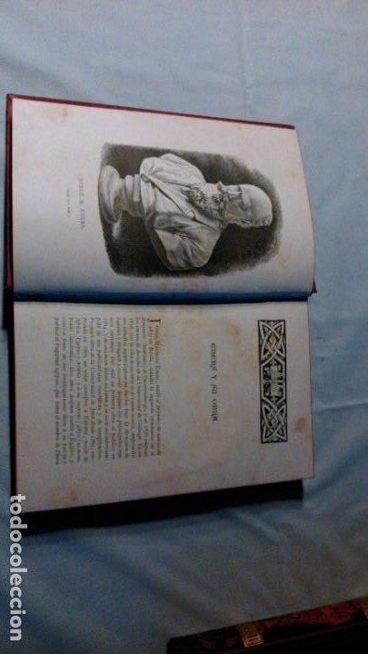 Libros antiguos: LA HIJA DEL REY DE EGIPTO- JORGE EBERS- DIBUJOS A PLUMA APELES MESTRES - 1881- TOMOS I Y II - Foto 5 - 195337812