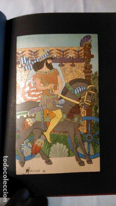 Libros antiguos: LA HIJA DEL REY DE EGIPTO- JORGE EBERS- DIBUJOS A PLUMA APELES MESTRES - 1881- TOMOS I Y II - Foto 11 - 195337812