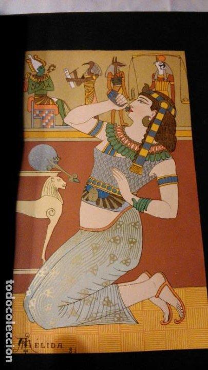 Libros antiguos: LA HIJA DEL REY DE EGIPTO- JORGE EBERS- DIBUJOS A PLUMA APELES MESTRES - 1881- TOMOS I Y II - Foto 12 - 195337812