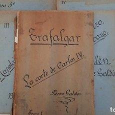 Libros antiguos: EPISODIOS NACIONALES. GALDÓS. 1ª SERIE. RECOPILACIÓN ARTÍCULOS PERIÓDICO 1928. Lote 195363386