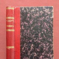 Libros antiguos: TORMENTO -PÉREZ GALDÓS - 1885 - 3ª EDICION.. Lote 195822971