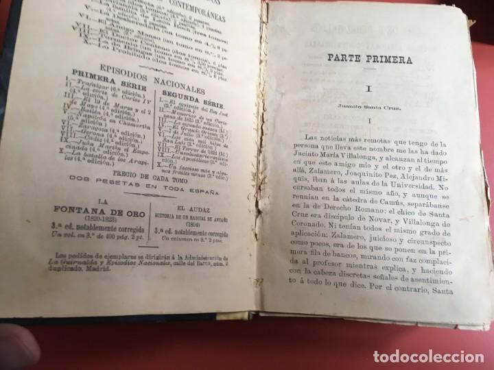 Libros antiguos: FORTUNATA Y JACINTA -- COMPLETA - 1887 - PRIMERA EDICIÓN - BENITO PÉREZ GALDÓS - La Guirnalda - RARA - Foto 6 - 196109940