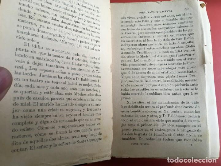 Libros antiguos: FORTUNATA Y JACINTA -- COMPLETA - 1887 - PRIMERA EDICIÓN - BENITO PÉREZ GALDÓS - La Guirnalda - RARA - Foto 7 - 196109940