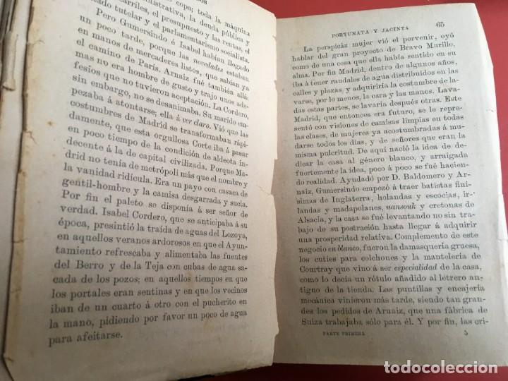 Libros antiguos: FORTUNATA Y JACINTA -- COMPLETA - 1887 - PRIMERA EDICIÓN - BENITO PÉREZ GALDÓS - La Guirnalda - RARA - Foto 8 - 196109940