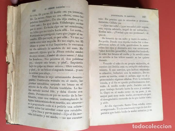 Libros antiguos: FORTUNATA Y JACINTA -- COMPLETA - 1887 - PRIMERA EDICIÓN - BENITO PÉREZ GALDÓS - La Guirnalda - RARA - Foto 9 - 196109940