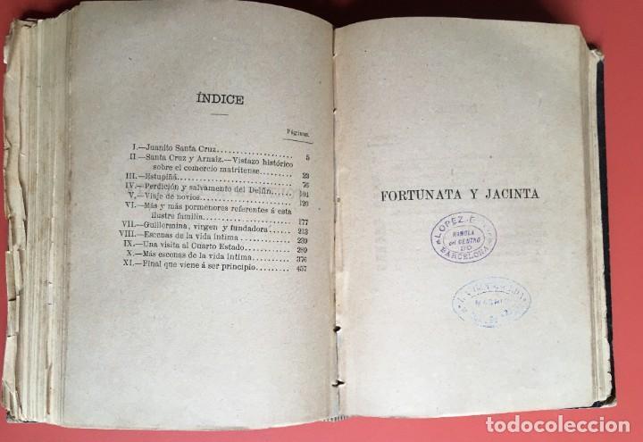 Libros antiguos: FORTUNATA Y JACINTA -- COMPLETA - 1887 - PRIMERA EDICIÓN - BENITO PÉREZ GALDÓS - La Guirnalda - RARA - Foto 11 - 196109940