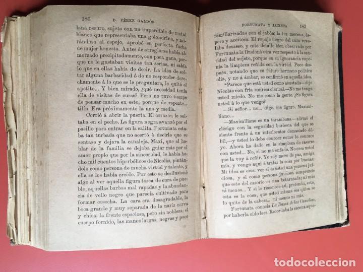 Libros antiguos: FORTUNATA Y JACINTA -- COMPLETA - 1887 - PRIMERA EDICIÓN - BENITO PÉREZ GALDÓS - La Guirnalda - RARA - Foto 12 - 196109940