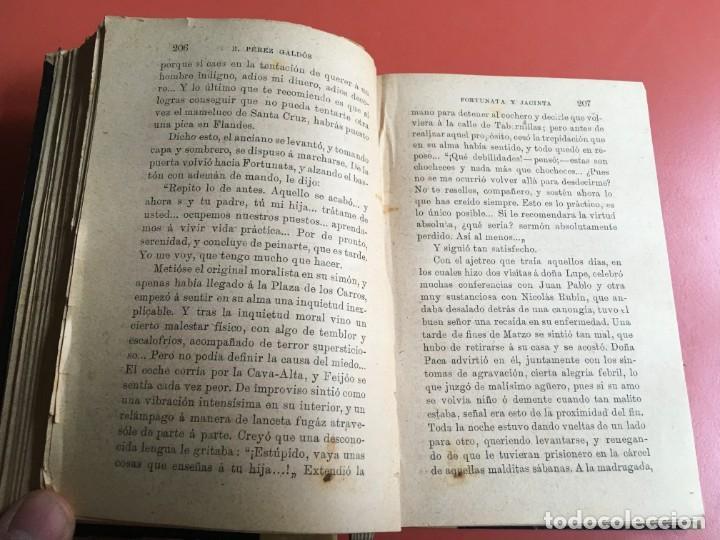 Libros antiguos: FORTUNATA Y JACINTA -- COMPLETA - 1887 - PRIMERA EDICIÓN - BENITO PÉREZ GALDÓS - La Guirnalda - RARA - Foto 17 - 196109940