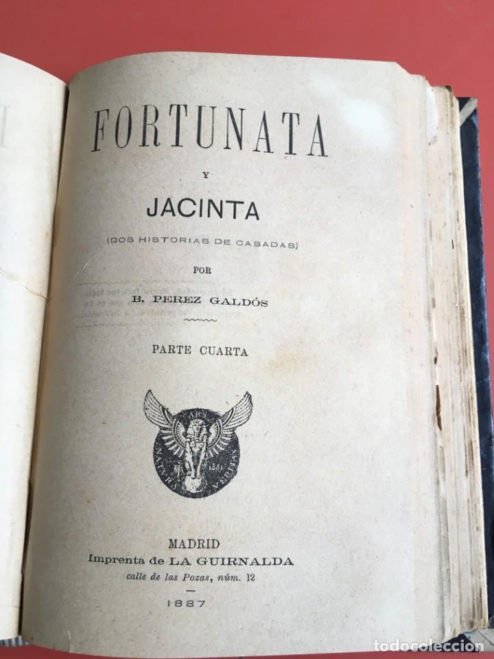 Libros antiguos: FORTUNATA Y JACINTA -- COMPLETA - 1887 - PRIMERA EDICIÓN - BENITO PÉREZ GALDÓS - La Guirnalda - RARA - Foto 19 - 196109940