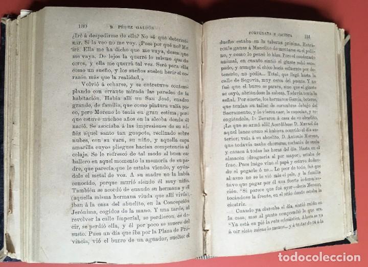 Libros antiguos: FORTUNATA Y JACINTA -- COMPLETA - 1887 - PRIMERA EDICIÓN - BENITO PÉREZ GALDÓS - La Guirnalda - RARA - Foto 20 - 196109940