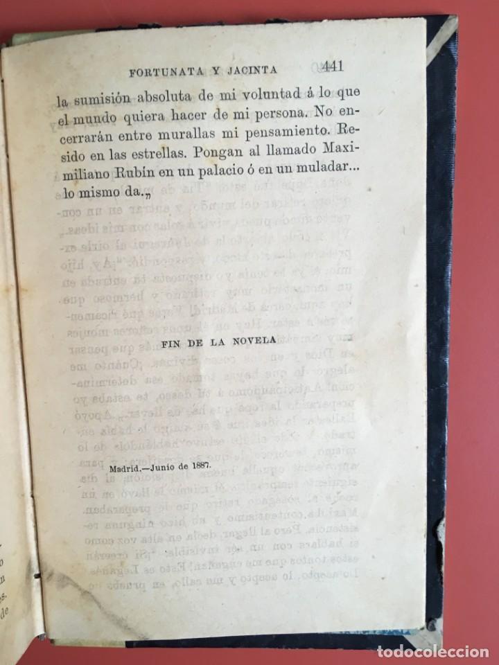 Libros antiguos: FORTUNATA Y JACINTA -- COMPLETA - 1887 - PRIMERA EDICIÓN - BENITO PÉREZ GALDÓS - La Guirnalda - RARA - Foto 21 - 196109940