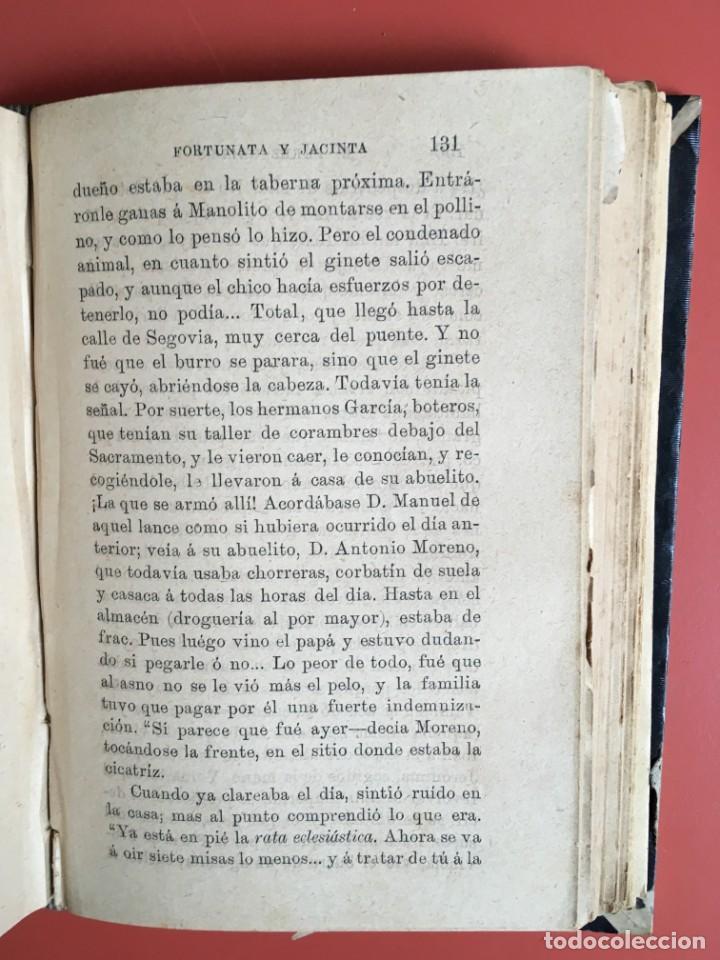 Libros antiguos: FORTUNATA Y JACINTA -- COMPLETA - 1887 - PRIMERA EDICIÓN - BENITO PÉREZ GALDÓS - La Guirnalda - RARA - Foto 22 - 196109940