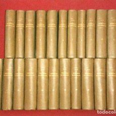 Libros antiguos: EPISODIOS NACIONALES - PEREZ GALDOS - 1899/1913 - 23 TOMOS - 46 EPISODIOS - 17, EN PRIMERA EDICION.. Lote 196248500