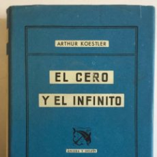 Libros antiguos: EL CERO Y EL INFINITO.. Lote 196872653