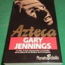 Libros antiguos: AZTECA - GARY JENNINGS (LIBRO NUEVO). Lote 199179691