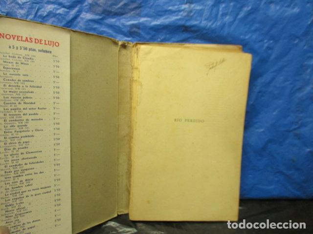 Libros antiguos: RIO PERDIDO 1933 - Grey,Zane - Foto 4 - 202522140