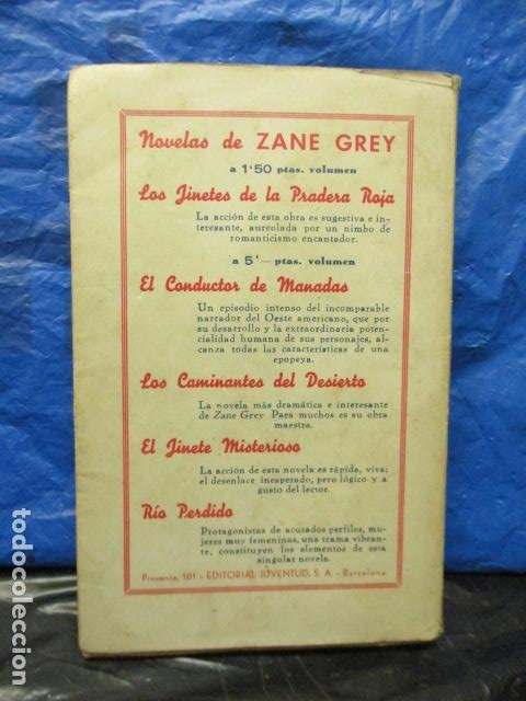 Libros antiguos: RIO PERDIDO 1933 - Grey,Zane - Foto 7 - 202522140