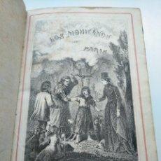 Libros antiguos: LOS MOHICANOS DE PARÍS, DE ALEJANDRO DUMAS (1861) - TOMO 1, ILUSTRADO CON 10 LÁMINAS. Lote 204334271