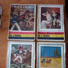 Libri antichi: VIVA LA REPÚBLICA / VICENTE BLASCO IBÁÑEZ * COMPLETA*. Lote 204514407