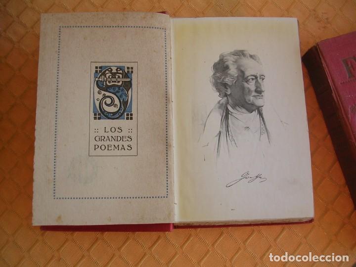 Libros antiguos: FAUSTO, GOETHE, EDITORIAL IBERICA, 1920, 2 TOMOS, ORNAMENTADA POR MANUEL FARRIOLS - Foto 2 - 204615696