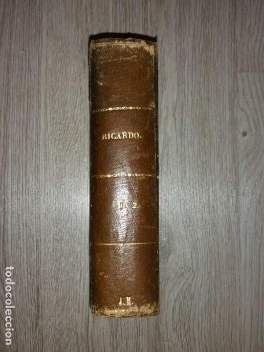 Libros antiguos: RICARDO, HISTORIA DE UN CORAZON - ESCRITO POR D. EMILIO CASTELAR - MADRID, 1877. 2 TOMOS EN 1 LIBRO - Foto 2 - 205458188