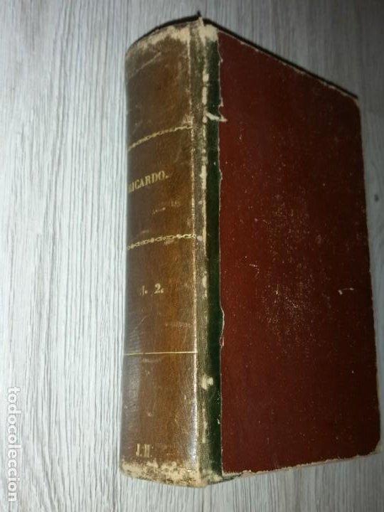 Libros antiguos: RICARDO, HISTORIA DE UN CORAZON - ESCRITO POR D. EMILIO CASTELAR - MADRID, 1877. 2 TOMOS EN 1 LIBRO - Foto 4 - 205458188