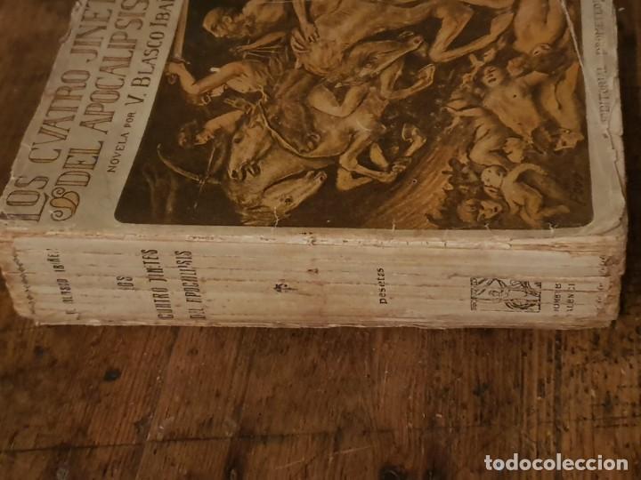 Libros antiguos: LOS CUATRO JINETES DEL APOCALIPSIS - BLASCO IBAÑEZ - EDITORIAL PROMETEO 1919 - Foto 2 - 206586998