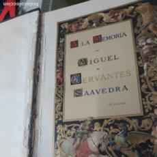 Libros antiguos: EL INGENIOSO HIDALGO DON QUIJOTE DE LA MANCHA - MIGUEL DE CERVANTES - EDICION MONTANER Y SIMON. Lote 207279006
