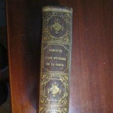Libros antiguos: CARLOS III O LOS MENDIGOS DE LA CORTE J.MARIA DE ANDUEZA 1859 BARCELONA. Lote 207449042