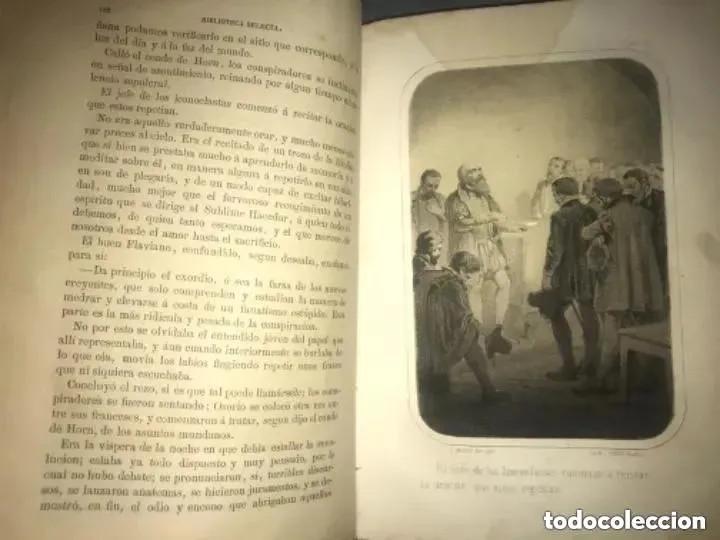 Libros antiguos: ANTIGUO LIBRO LA INQUISICIÓN Y EL REY Y EL NUEVO MUNDO 1862 - Foto 4 - 208349670